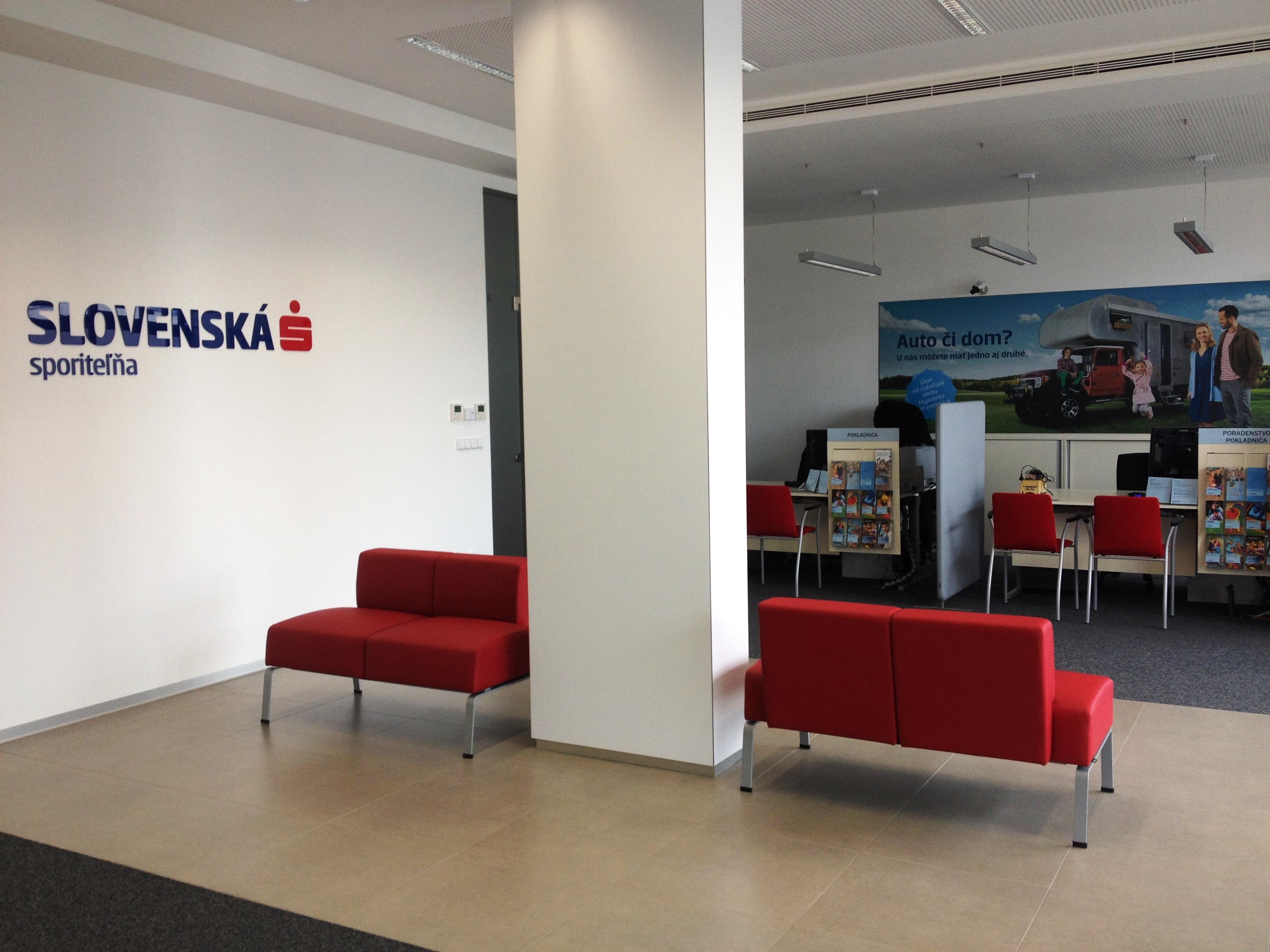 Slovenská sporiteľna nová prevádzka
